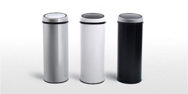 poubelle automatique 50l