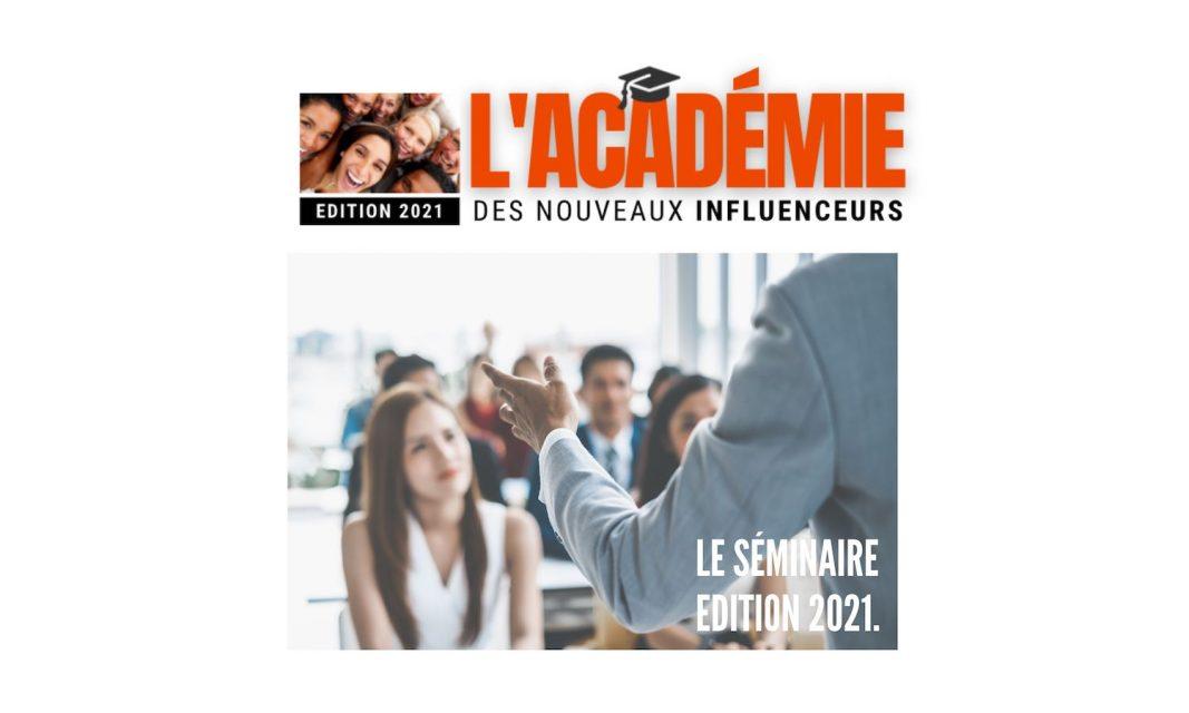 Le séminaire edition 2021.